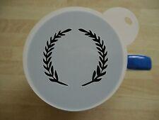 100mm leaf wreath new design craft stencil and coffee stencil