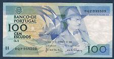 PORTUGAL - 100 ESCUDOS Pick n° 179.f du 24 novembre 1988 en SUP   DQP 048509