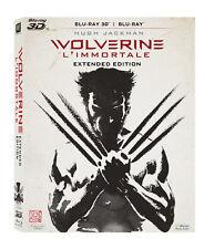 Blu Ray WOLVERINE - L'Immortale - (Blu-Ray+Blu-Ray 3D) 20TH CENTURY FOX ...NUOVO