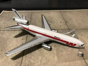 * Aeroclassics Western Airlines DC-10-10,1980s Spaceship Colors. N910WA LAST ONE