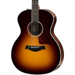 Taylor 214e Deluxe Grand Auditorium Acoustic-Electric Guitar Tobacco Sunburst