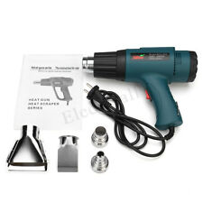 220V 2000W Hot Air Heat Gun Dual Temperature+ 4 Nozzles Power Tool Set EU Plug