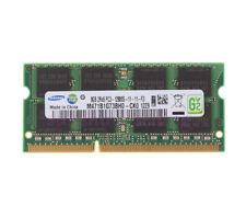 Samsung 8gb pc3-12800s ddr3-1600mhz 2rx8 SODIMM Laptop Notebook Arbeitsspeicher RAM 8 GB