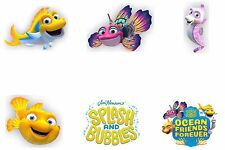 Splash & Bubbles Edible Party Image Cupcake Topper Frosting Icing Sheet Circles