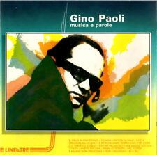 GINO PAOLI - Musica e Parole (16 brani RCA) NUOVO CD RARO