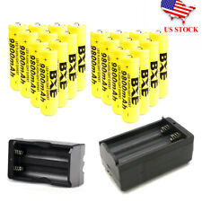 18650 Battery 3.7V Lithium Rechargeable Button Battery with Fast Dual Charge WQ