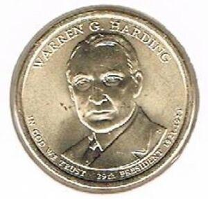 Amerika dollar 2014 D Unc - W. Harding