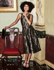 Boden Jacquard Party Dress UK Size 14 TD172 MM 14