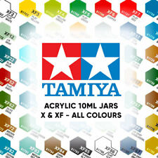 Tamiya Acrylic Paint 10ml Full Range X1-X35 & XF1-XF90 - Choose Colour Airfix
