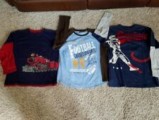 Lot of 3 Great GAP, OSHKOSH B'GOSH & TUMBLEWEED Long-Sleeved Shirts Sz. 10 - EUC
