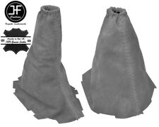 GREY REAL SUEDE GEAR & HANDBRAKE GAITER FITS FORD FOCUS II MK2 2008-20011