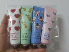 `Tonymoly] 4 kinds hand cream(Cotton, Jasmine, Boksoohyang, Remonyang)30ml*4