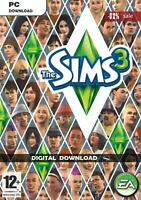 The Sims 3:  ALL EXPANSIONS 2009-2013 PC (Instant Download)