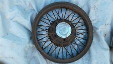 Antique OEM Studebaker Wire Spoke Wheel Rim w cap 19 inch