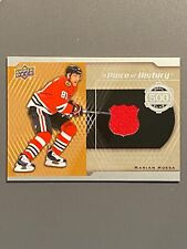 2016-17 Upper Deck A Piece of History 500 Goal Club #GCMH Marian Hossa BLACKHAWK