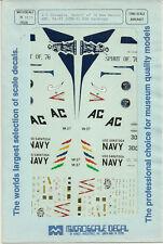 1/72 MicroScale Decals Corsair A-7D New Mexico ANG A-7E VA-37 USS Saratoga