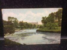 21.  On the Kelvin, West End Perk, Glasgow Postcard