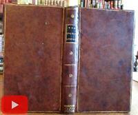 English Language Instruction c.1804 Paris rare leather book Revolutionary era
