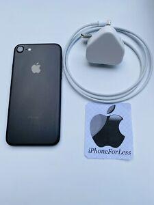 Apple iPhone 7 - 128GB - Black Matt - (Unlocked) - A1778 - Ref 72