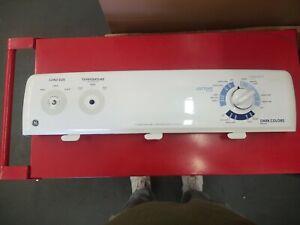 WH42X10890 GE Washer Backsplash/Control panel w/timer, temperature/pressure swit