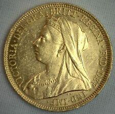 Australia Victoria Gold Sovereign 1894 Sydney KM# 13