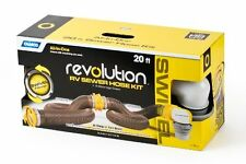 Camco 39625 REVOLUTION SEWER 20' HOSE KIT RV Motorhome Camper Trailer