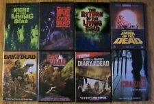 George Romero's Horror Movies Lot of 7 – Night of the Living Dead/ Day of Dead +