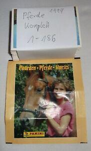 Pferde /   Horses  Kompletter Satz / Panini 1994