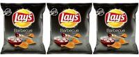 Lay's 3 Packs Barbecue BBQ Potato Chips 3oz 84.9g Classic Crunchy Crisps Snack