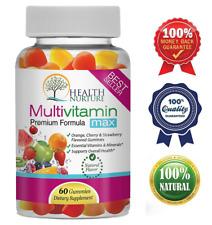 HEALTH NURTURE MULTIVITAMIN MAX- Gummy Vitamins for Men and Women