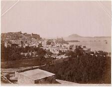 Photo Albuminé Italie Pozzuoli Italia Vers 1880