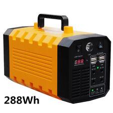 288wh mobiler energiespeicher solar generator lithium ionen power station AC DC