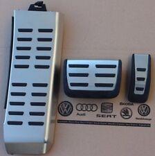 Audi A4 B8 original Pedalset Pedale Pedalkappen Fußstütze A5 Q5 pedal pads caps