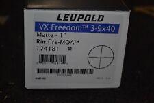 Leupold VX-Freedom 3-9x40mm Matte Rifle Scope Rimfire-MOA Reticle 174181