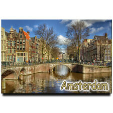Amsterdam fridge magnet Netherlands travel souvenir
