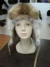 BRAND NEW MONTANA LYNX FUR AVIATOR HAT MEN WOMEN