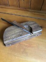 Antique Vintage Carpenters Wooden Moulding Plane - Moving Plane - No8 Iron