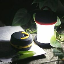 NOUVEAU !!! Led Lampe / Lanterne de Camping Repliable 2 en 1 de Poche à Piles