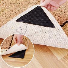 4Pcs Rug Carpet Mat Grippers Non Slip Skid Reusable Washable Grips Tool 2017 JT