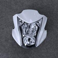 Motorcycle Headlight Assembly+Fairing Fit for Kawasaki ER-6N 2012-2016 15 White