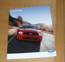 Ford Mustang Brochure 2013 V6 Premium GT Boss 302 Canadian Market