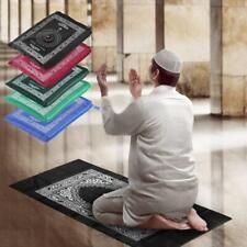 100x60cm Portable Prayer Rug for Muslim Islam Waterproof Prayer Mat Carpet & Bag