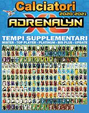 CALCIATORI ADRENALYN XL 2020-21 TEMPI SUPPLEMENTARI TOP PLAYER MISTER BIS UPDATE