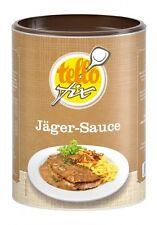tellofix Jäger-Sauce 400 g (4 l) Bratensoße mit Champignons (o. GSV)