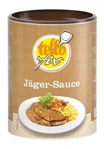 (EUR 17,48/kg) Jäger-Sauce (400 g) Tellofix Jägersoße mit Champignon