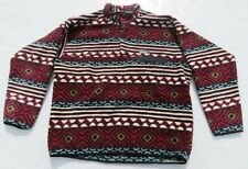 Mens PATAGONIA Aztec Indian Tribal Southwestern Snap T Fleece Sweater XL