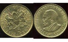 KENYA 5  cent 1975