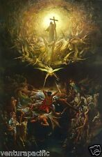 """The Triumph of Christianity Over Paganism"" : Gustave Dore  :  circa 1866"