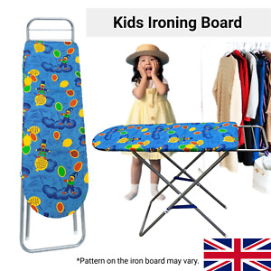 Kids Ironing Board Toy Childrens Girls Role Pretend Play Toys Christmas Gift New