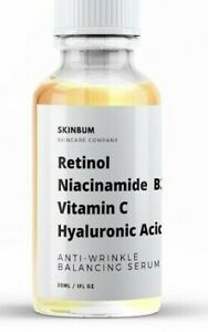 Retinol, Niacinamide B3, Vitamin C, Hyaluronic Acid, Anti-Aging Wrinkle SERUM